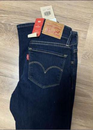 Женские синие джинсы Levi's 23 размер