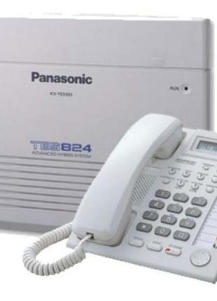 Мини АТС Panasonic + Системный телефон (комплект)