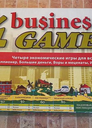 4 экономические игры в одной коробке!