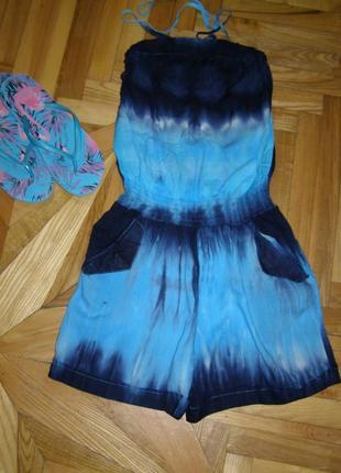 Распродажа!!! классный летний ромпер (комбинезон) шорты