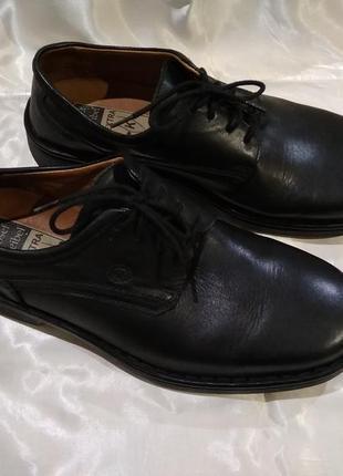Туфли кожаные josef seibel на широкую ногу