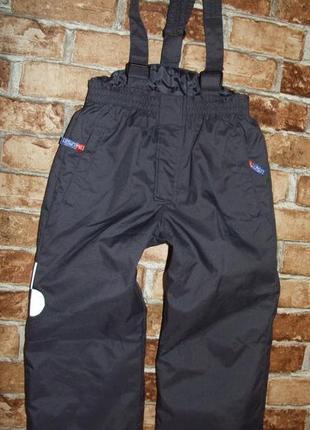 Полукомбинезон лыжные штаны 4 года