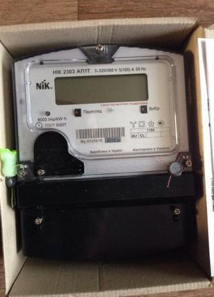 Электросчетчик Трехфазный НІК 2303 АП1Т 1100 3х220380В