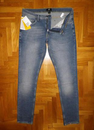 Джинсы мужские H & M (Pakistan) super skinny fit W31