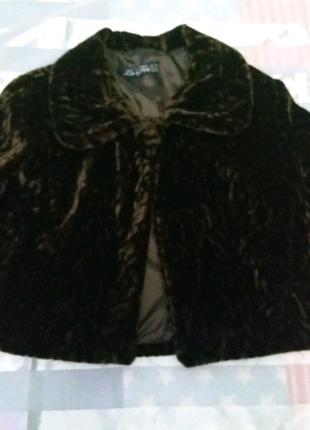 Короткое пальто/болеро на 1пуговке