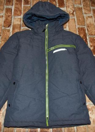 Теплая зимняя куртка 11 лет мальчику