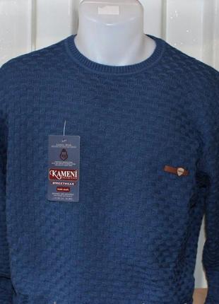 Мужской свитер турция, шерсть-акрил