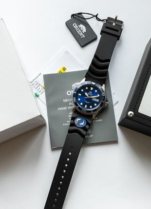 Часы наручные дайвер Orient Ray II Blue - оригинал с документами