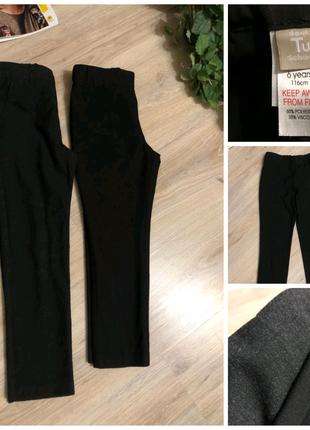 Отличные классические черные серые брюки штаны для девочки