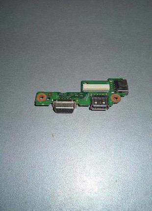 Dell Inspiron N5010 Плата USB + VGA