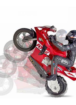 Самобалансирующийся трюковой мотоцикл на радиоуправлении