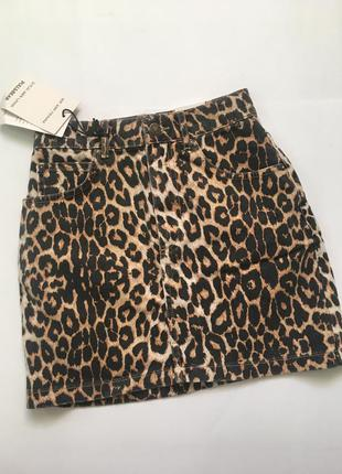 Джинсовая юбка pull&bear  размер s