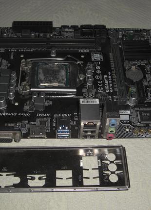 S1151 Gigabyte GA-H110M-H DDR4 VGA/HDMI