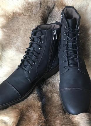 Черевики шкіряні Dockers, 48 розмір, мужские кожаные ботинки
