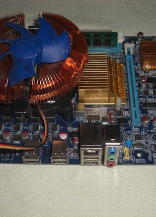 Socket 1366 8 потоков core i7-920 + материнская плата