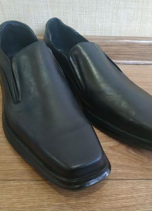 Туфли мужские кожаные размер 46 (31,3 см)