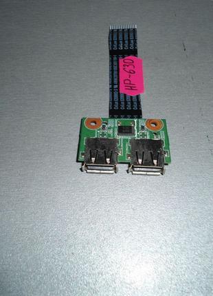 HP 630 Плата USB
