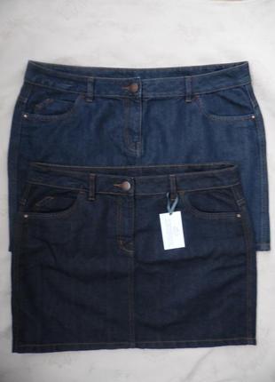 Юбка джинс george размер 14(42) и 16(44) – идет на 50-50+ и 52...