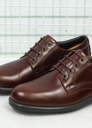 Туфли мужские кожаные осень marks&spencer размер 45-46 стелька...