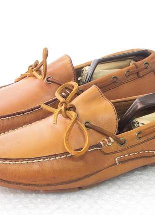 Мокасины мужские кожаные  polo by ralph lauren polo р 44 стель...