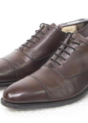 Туфли мужские кожаные loding размер 41 стелька 28 см