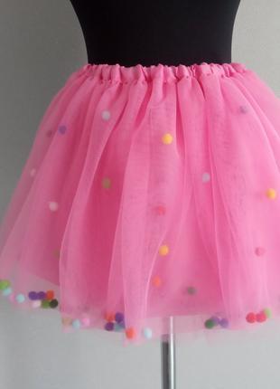 Юбка из фатина юбка фатиновая спідниця дитяча
