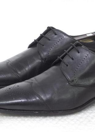 Туфли мужские кожаные hugo boss размер 45 стелька 32,5 см
