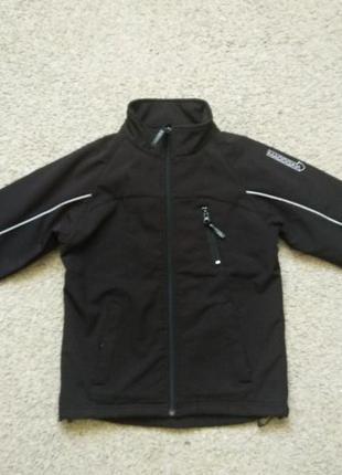 Куртка демисезонная softshell размер  134-140