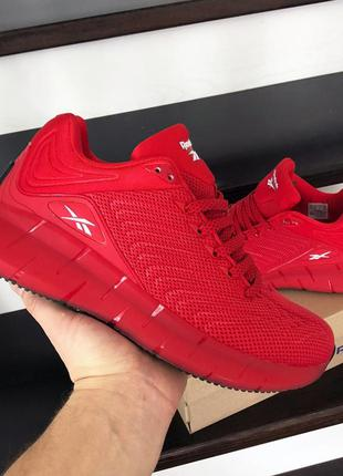 Мужские кроссовки reebok красные 44 Размер