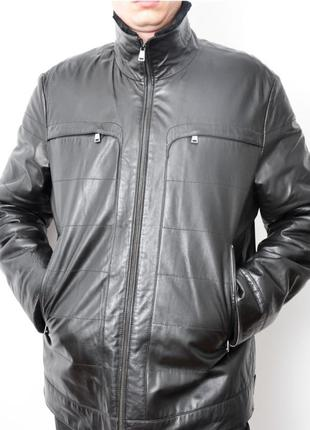 Дубленка, пилот, куртка натуральная кожа.