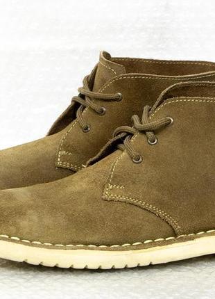 Дезербутсы ботинки замшевые размер 43 стелька 28,5 см