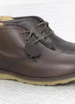 Ботинки мужские кожаные easy  размер 39 стелька 25,5 см состоя...