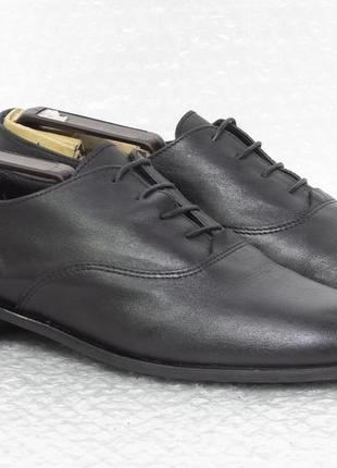 Туфли мужские кожаные  zing размер 41 стелька 26 см состояние ...