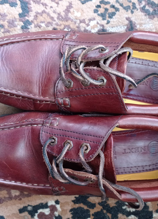 Кожаная обувь 42