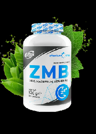 ZMB 6PAK Nutrition  цинку ,магний ,витамин B6
