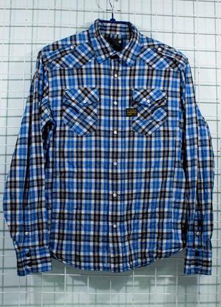 Рубашка мужская  g-star размер m-l