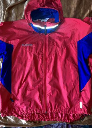 Куртка ветровка columbia. идеальное состояние. xl