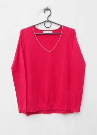 Осенний свитерок свитшот с длинным рукавом