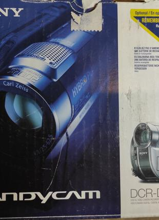 Видеокамера Sony Handycam DCR-DVD810E