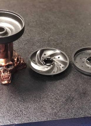 Чаша для кальяна  металлическая Iron Man, Tanos, Skull.