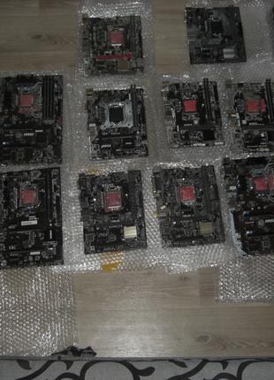 Материнские платы 1151 Asus Gigabyte MSI H110/B150/Z170/H310/B360