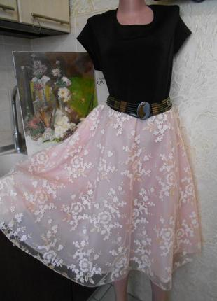 #simply be#красивое платье с юбкой пачкой батал # большой разм...