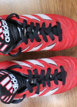 Футбольная обувь на подростка копачки adidas