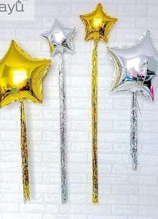 Фольгированные кисточки для шаров