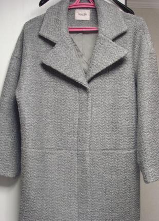Пальто в стиле оверсайз denmark премиум класс размер 50+