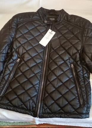 Новая мужская куртка из эко кожи Colin's Colins Колинс оригинал