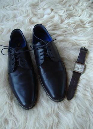 Туфли мужские, кожа, 30см, инди