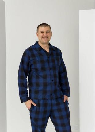 Мужская пижама из хлопка