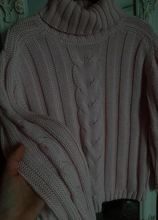 Красивый свитер для девочки-подростка