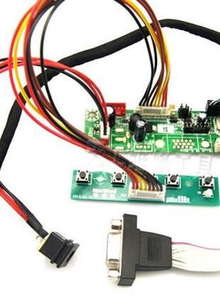 Универсальный VGA скалер HX6810 со шлефами